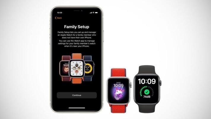 قابلیت جدید اپل واچ family setup