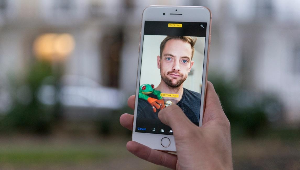 مشخصات دوربین جلو آیفون 8 پلاس اپل