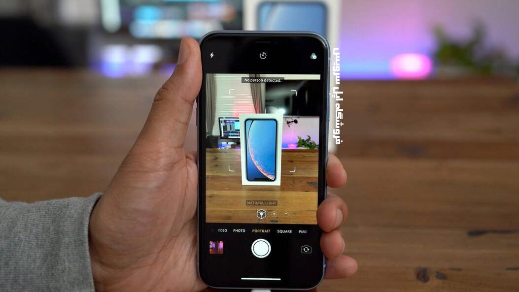 امکانات دوربین آیفون XR اپل
